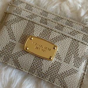 Michael Kors | Leather Card Case